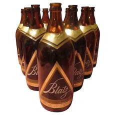 Blatz ''Milwaukee's Finest Beer'' Quart Bottles'