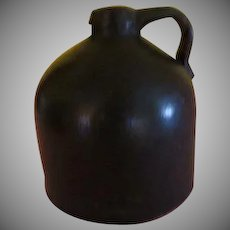 Little Brown jug Short beehive Moonshine Jug - b204