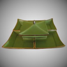 Ever Art Chartreuse Pagoda Covered dish and serving dishes - b203
