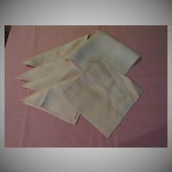 Extra large Pink dinner Napkins - Cl