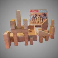 Playskool Kindergarten Wood Blocks in Box - b209