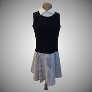 Preppy Look Vest and Skirt Look Dress