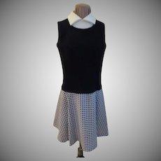 Preppy Look Vest and Skirt Look Dress