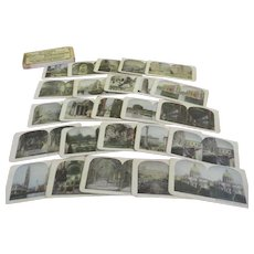 A Visit to Rome and Venice 25 Stereographic Views in Box