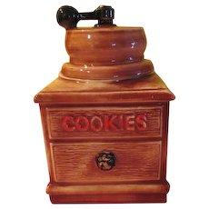 McCoy Coffee Grinder Cookie Jar
