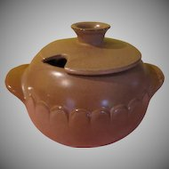 Frankoma Lazy Bones Cinnamon Tureen with Lid - FG