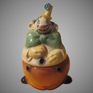 Brush Happy Clown Cookie Jar