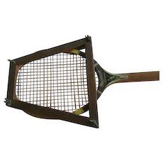 MacGregor Wood Rim Speedwood Tennis Racket