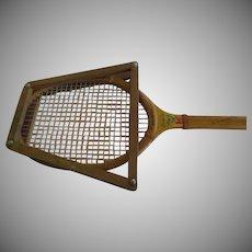 Wright & Ditson Davies Cup Wood Tennis Racket - g