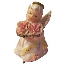 Miss May Lefton Birthday Angel - b207