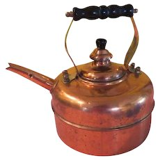 ODI Old Dutch International Copper Tea Kettle - G