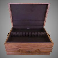 Oak Silverware Chest