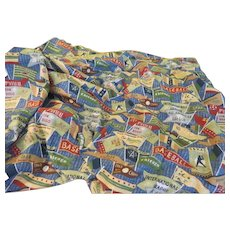 Take Me Out to the Ballgame Rod Pocket Curtains - L10
