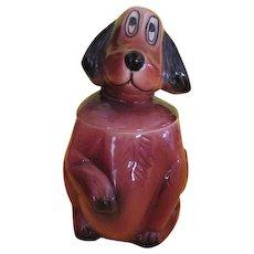 McCoy Mac the Sad Eye Puppy Cookie Jar