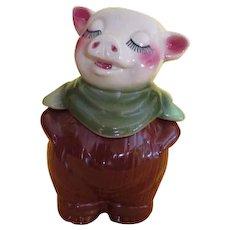 Smiley Shawnee Piggy Bank/cookie jar