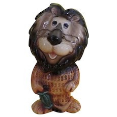 Hubert the Harris lion Lefton Savings Bank - b216