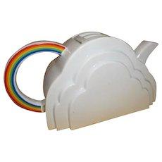 Vandor Cloud and Rainbow Tea Pot - B221 - Red Tag Sale Item