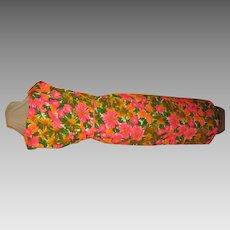 Sarong Top Pink Print Dress