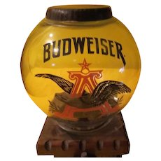 Budweiser Anheuser Busch Beer Nuts Dispenser - g