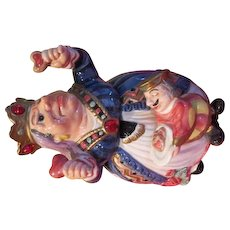 Off with Her Head Queen of Hearts Fitz and Floyd Cookie Jar