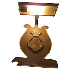 Harp Shaped Music Stand Light - B - Red Tag Sale Item