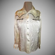 Western Wear Snap front Shirt/blouse