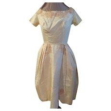 Bouffant Skirt Prom Dress