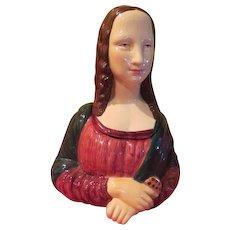 Serene Mona Lisa Vandor Cookie Jar