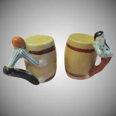 Barrel Huggers Salt and Pepper Shakers - b226
