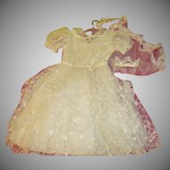 Sweetheart Neckline 1st Communion Dress and Veil