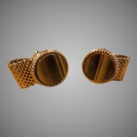 Mesh Wrap Cuff Links - free shipping