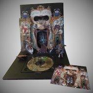 Michael Jackson Dangerous First Printing Pop-up 1991 CD - b234