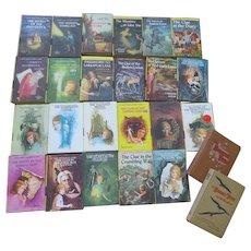 Nancy Drew Mysteries Books 1-23 - b