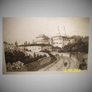 Cintra Original etching by C F W Mielatz