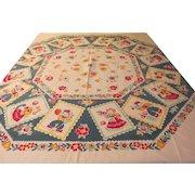 Dutch Couples Tablecloth - b229