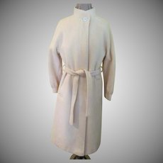 Frostmann Belted Winter White Coat