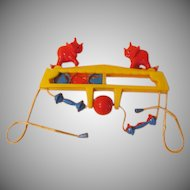 Stimulating Big Top Crib Toy - b217