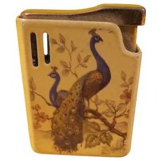 Proud Peacock Cigarette Lighter