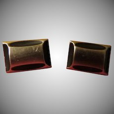 Black Accented Cufflinks - Free shipping