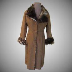 Faux Fur Sherpa Coat