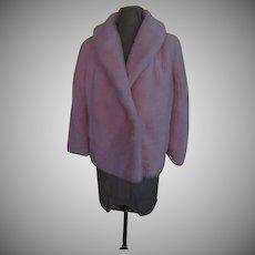 Girl Power Powder Puff Pink Faux Fun Fur Jacket