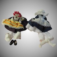 """Madam Alexander French and Greek Doll Dresses for 8"""" Doll - b227"""