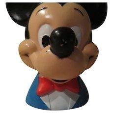 Play Pal Mickey Mouse Walt Disney Productions 1971 Bank - b252