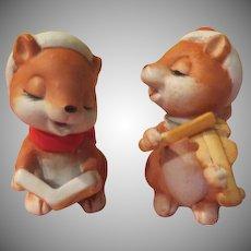 Christmas Squirrels Figures - X-17