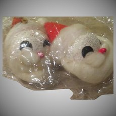 Santa Head Christmas Tree Ornaments - b247