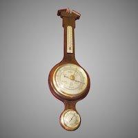 Whitehall Banjo Thermometer, Barometer