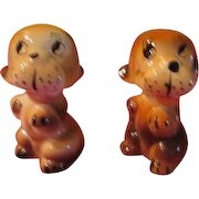 Playful puppies Salt and Pepper Shakers - JSP