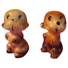 Playful puppies Salt and Pepper Shakers - JSP