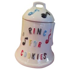 American Bisque Ring for Cookies Cookie Jar