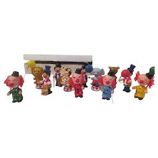 Wood Circus Figures - b235